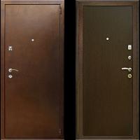 бюджетный вариант входной металлической двери